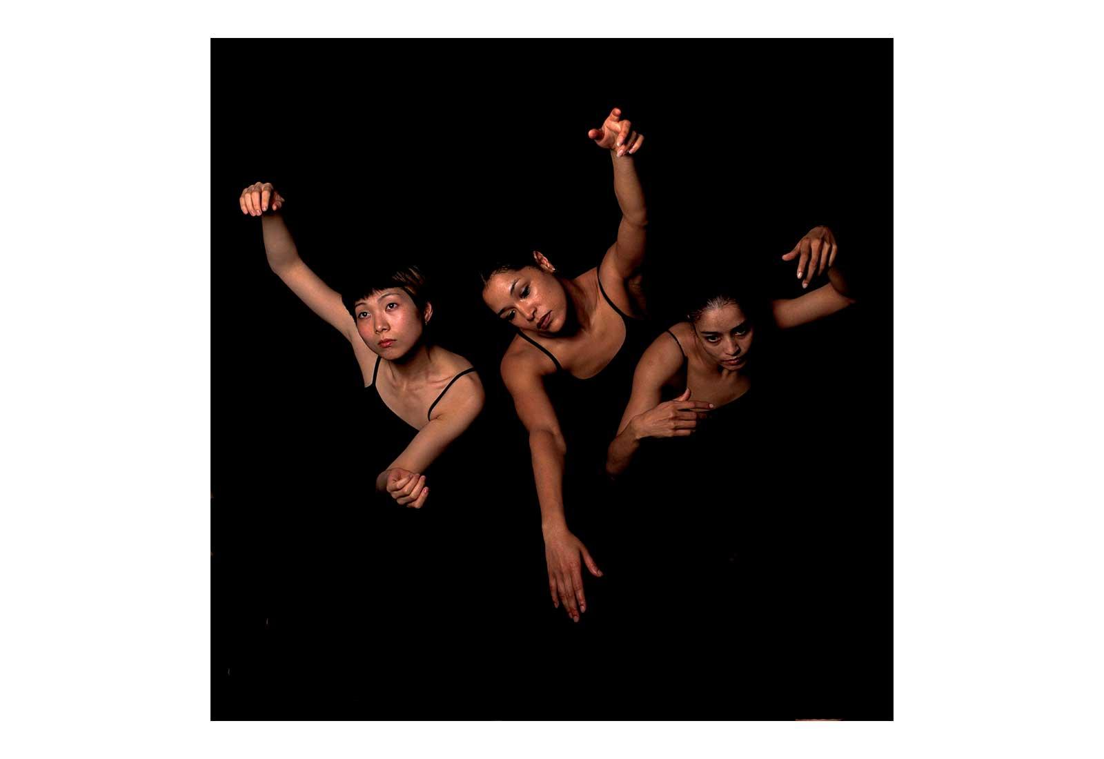 Maho Ihara, Moya Michael and Shanelle Winlock -