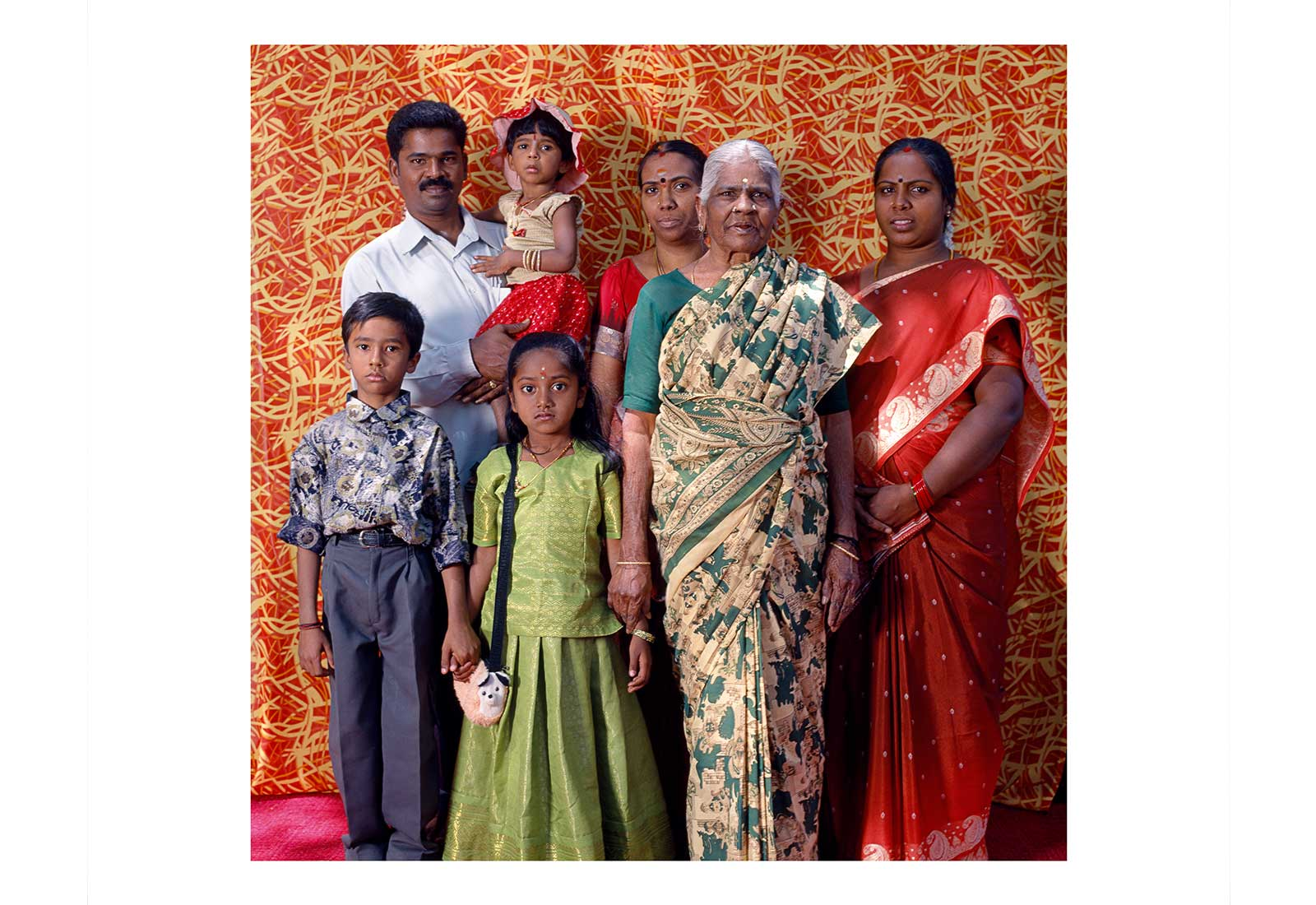 The Raghunandan family -