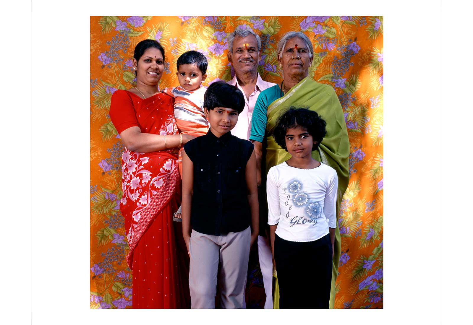 Murugesh, Gouri and family -