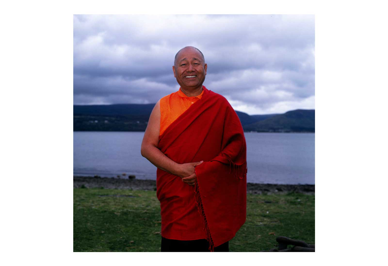 Lama Yeshe, Holy Island, West Coast of Scotland
